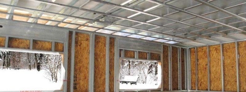 Qué materiales se usan para construcción en seco